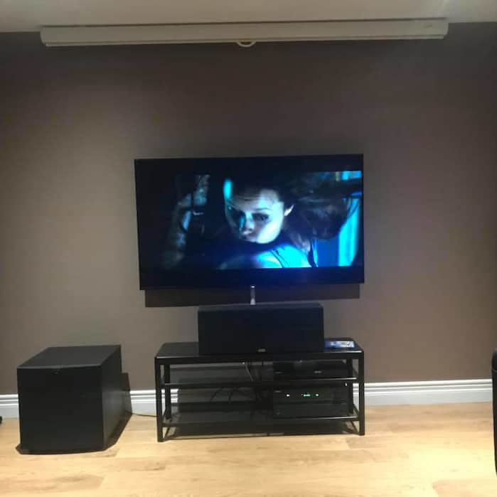 AMG home cinema install