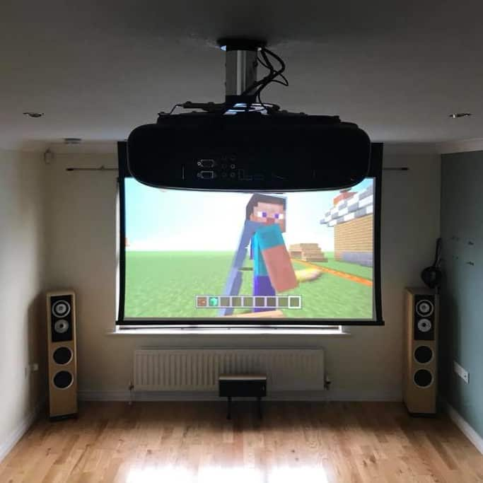 Home cinema install